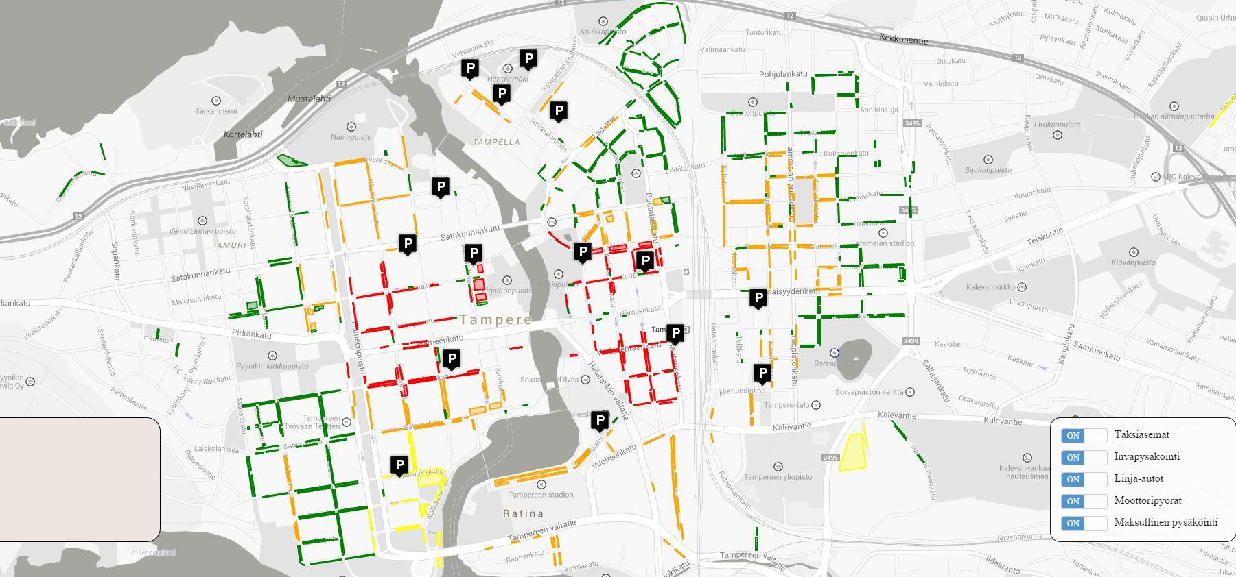 Tampere pysäköinti ilmainen – Koti ja villieläinten